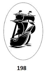 гравировка парусника
