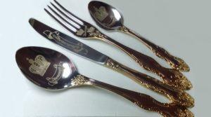 вилки ложки нож столовые
