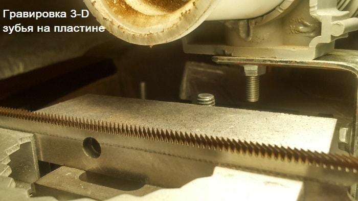 изготовление зубьев