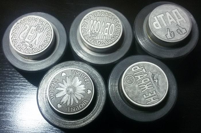 штамп для монет