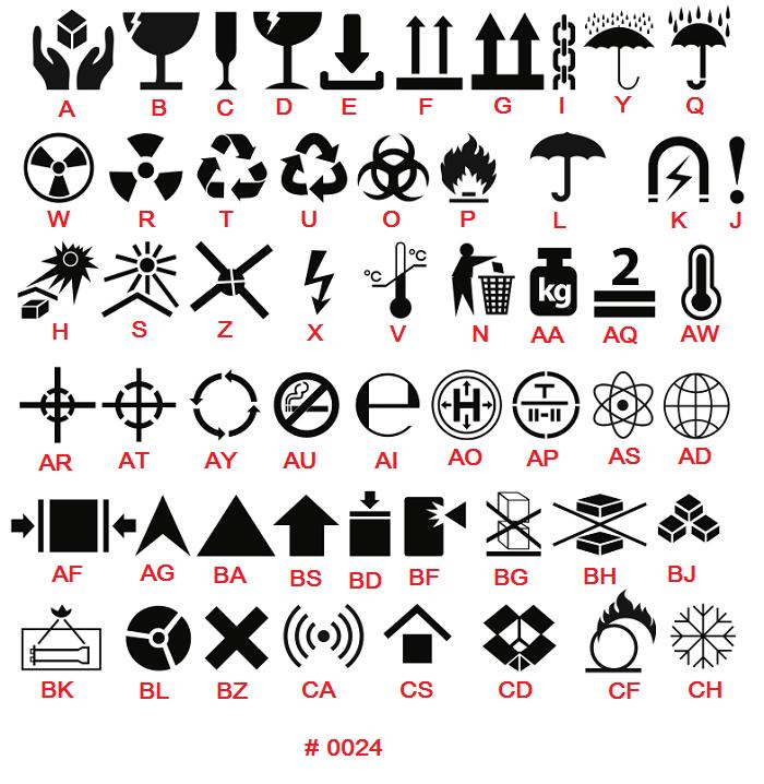 маркировочные знаки